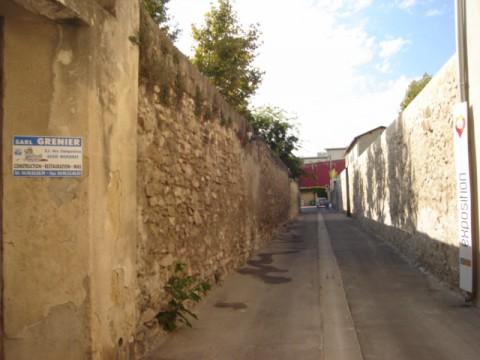 Restauration mur couvent Avignon - 01