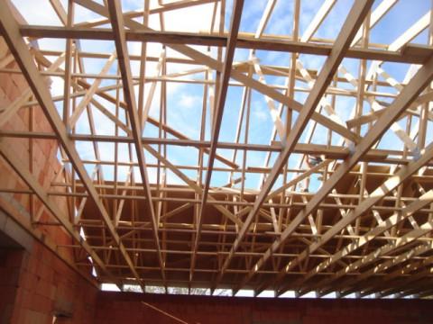 Charpente industrielle bois - Bagnols sur ceze 30