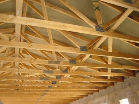 Charpente industrielle bois - Saint Remy de Provence  13