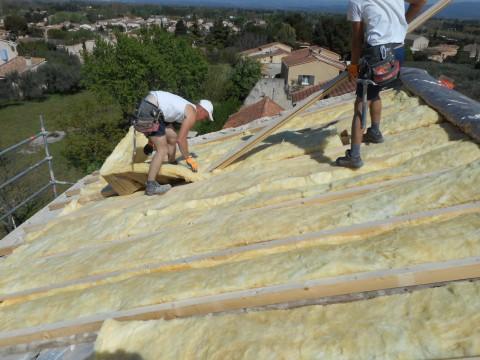Isolation toiture par exterieur Saint Saturnin les  Avignon